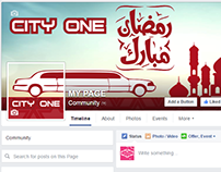 FaceBook Profile and Cover - City one