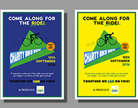 Charity Bike Ride Posters
