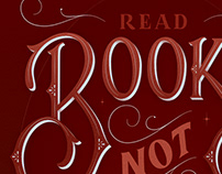 Read Books Not Just Captions Lettering