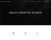 Solay Creative Studio Landing Page