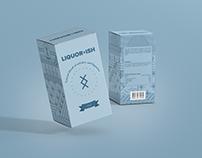 LIQUORxISH Package Design