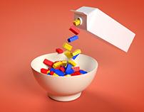 Lego Milk