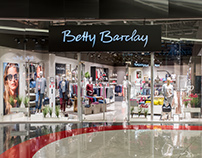 Betty Barclay — Освещение для магазина одежды