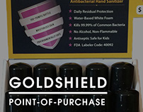 Goldshield | Point-of-Purchase Display