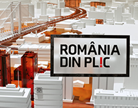 """Romania din plic"" - Title sequence"