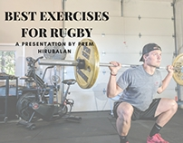 Best Exercises for Rugby by Prem Hirubalan