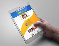 Дизайн-проект главной страницы сайта POLYNOR