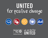 United for Positive Change Infographic