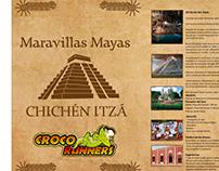 Diseño de catálogo de tours Croco Runners