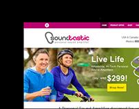 Soundtastic Personal Sound Amplifier Website