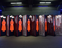 'The Handmaid's Tale' - Installation Design