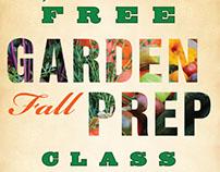 Lawn & Garden Class Posters