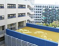 Roof Garden Mural
