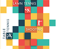 ManavRachna Sports Academy (Various branding projects)