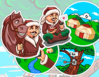 Nomad and digital sticker pack