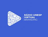 Rádio Unesp Virtual | Branding