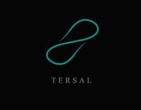 Tersal logo development for messaging application