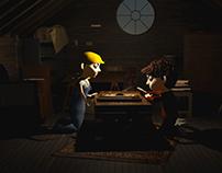 Jumanji - 3D Animation