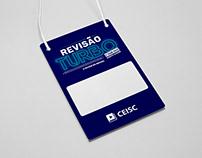 """Identidade evento """"Revisão Turbo"""" - CEISC"""