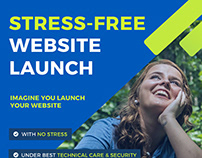 Launch a website without stress!