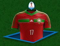 MOROCCO KITS - FIFA WORLD CUP 2018   RUSSIA   ADIDAS