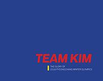 Publication Design for Team Kim