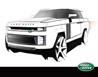 Land Rover PICK-UP TRUCK