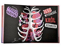 FORTYNBRAS SIĘ UPIŁ book design & illustrations 2014
