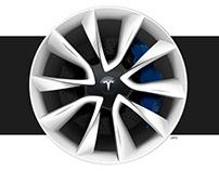 Tesla Model 3 | Signature Wheel Design