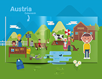 Homeland Austria - A children's book