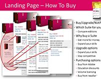 Adobe InDesign - Website Case Study