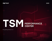 TSM — pro esports gaming facility