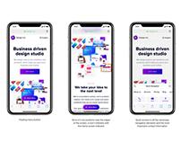 New-Web homepage
