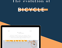 The evolution of bicycle