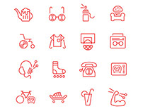 Icon Set | Youth Senescence