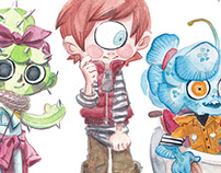 [Children Book] Monsters Jr.