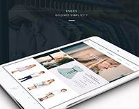 Esoes - Beloved simplicity / web design