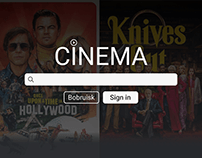 Design of a website for selling tickets to cinemas