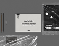 Toria Stationery Mockup Kit with Plastic Textures
