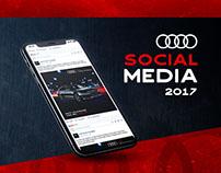 Audi Center   Social Media 2017