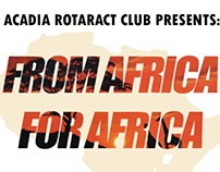 From Africa, For Africa - Poster