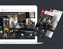 Web Design for Scavolini
