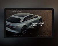 L / D experimental car site interface.