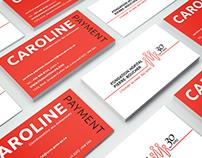 Carte d'affaires Fondation Hôpital PIerre-Boucher
