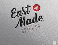 East Made logo & stationery
