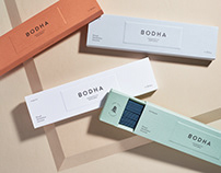 Bodha Brand Identity & Packaging