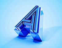 2019 Edition of 36 Days of Type — 3D Lettering