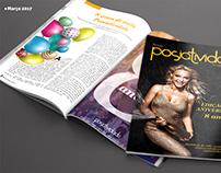 Diagramação - Revista Posiatividade