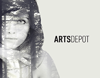 ARTSDEPOT / branding, website