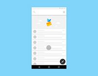 UI Animation — Messenger